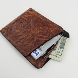 Bark Vertical Wallet Front