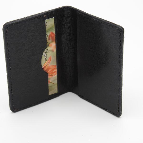 Ostrich Leg Wallet Inside