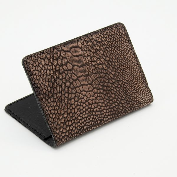 Ostrich Leg Wallet